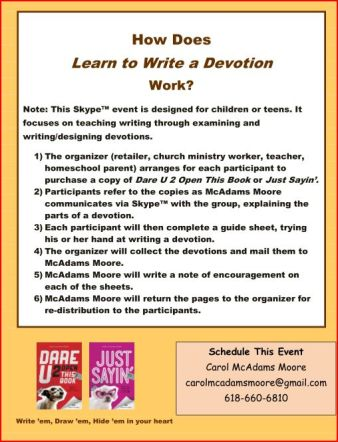 Learn to Write a Devotion Pg2